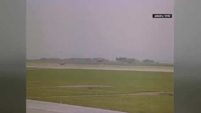 Watch and share MiG-21 And MiG-23 Mass Takeoffs GIFs on Gfycat
