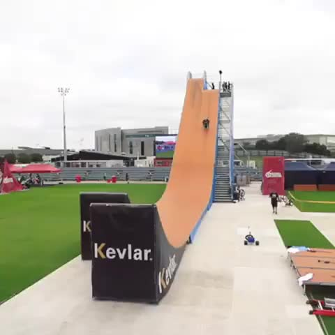 Watch and share Amazing Wheelchair Flip On Mega Ramp GIFs by t-h-a-t-o-n-e-8-6 on Gfycat