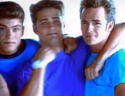 Watch and share Beverly Hills 90210 GIFs and Funny Bromance GIFs on Gfycat