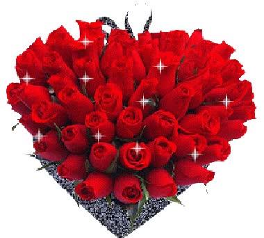 Watch and share Gif Animado De Un Ramo De Rosas Para Mandar Por Whatsapp animated stickers on Gfycat