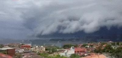 cloud tsunami, sydney, australia, rain, hail