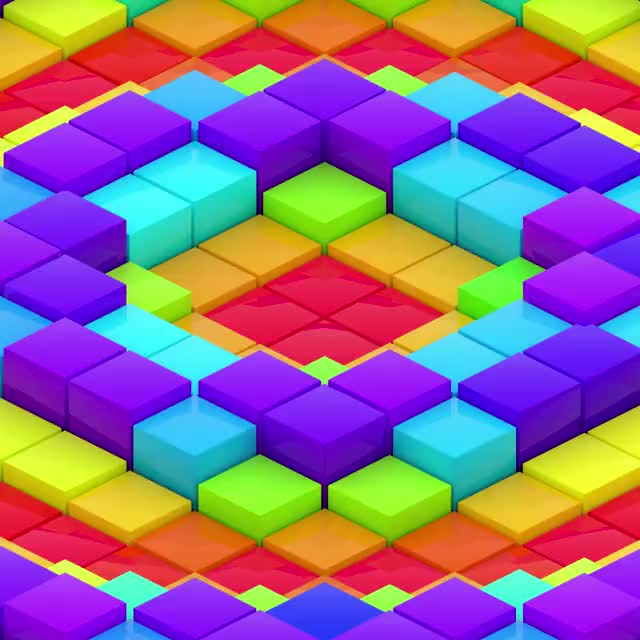 Watch and share Colored Box Wave GIFs by jefftml on Gfycat