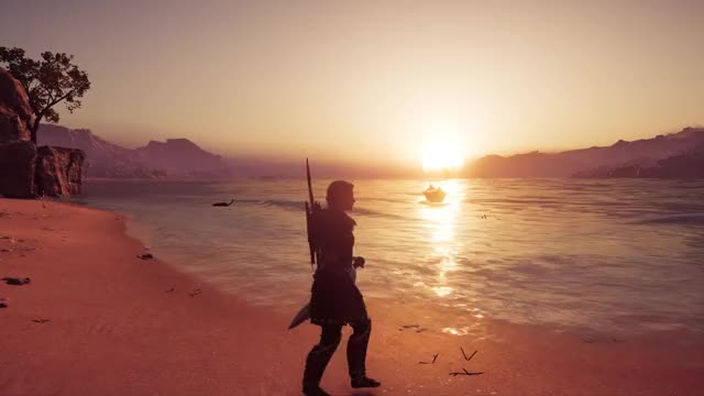 Watch and share Beach Walk GIFs and Kassandra GIFs by Badger on Gfycat