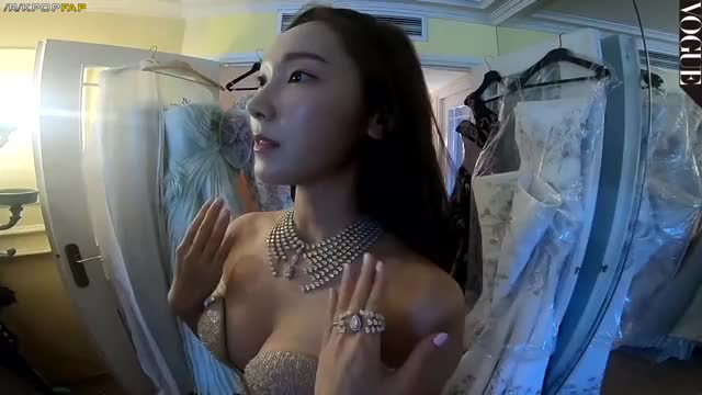EX-SNSD Jessica - Boasting her cleavage for VOGUE Magazine at Cannes Film Festival 2018