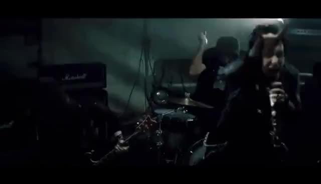 Watch and share Rock\'nroll GIFs and Papa Roach GIFs on Gfycat