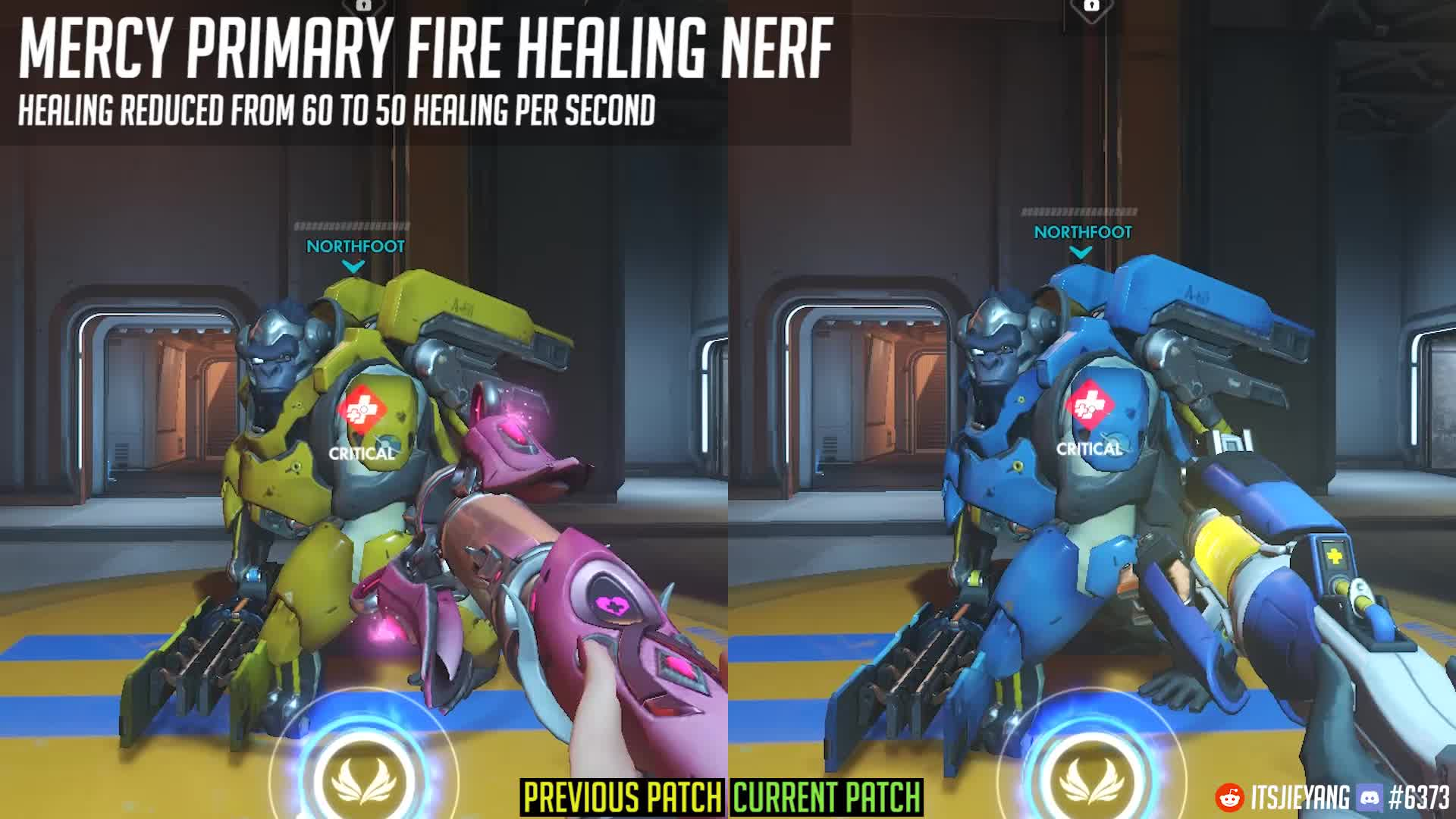 mercy, overwatch, Overwatch Patch 9th August - Mercy Healing Nerf GIFs