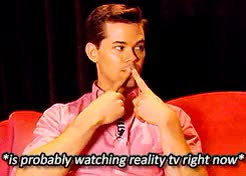 Watch Andrew Rannells - a summary GIF on Gfycat. Discover more *, Andrew Rannells, Andrew Rannells*, inspired by all the other ones like these going around, mine, thank you to lishashisha for brainstorming this one with me GIFs on Gfycat