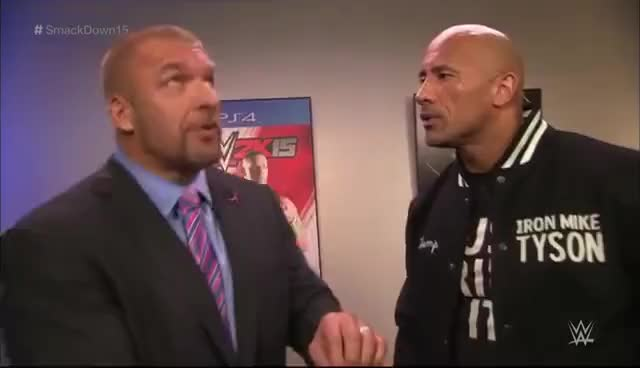 Watch The Rock & Triple H Segment GIF on Gfycat. Discover more Dwayne Johnson, Stephanie McMahon, The Rock, Triple H GIFs on Gfycat
