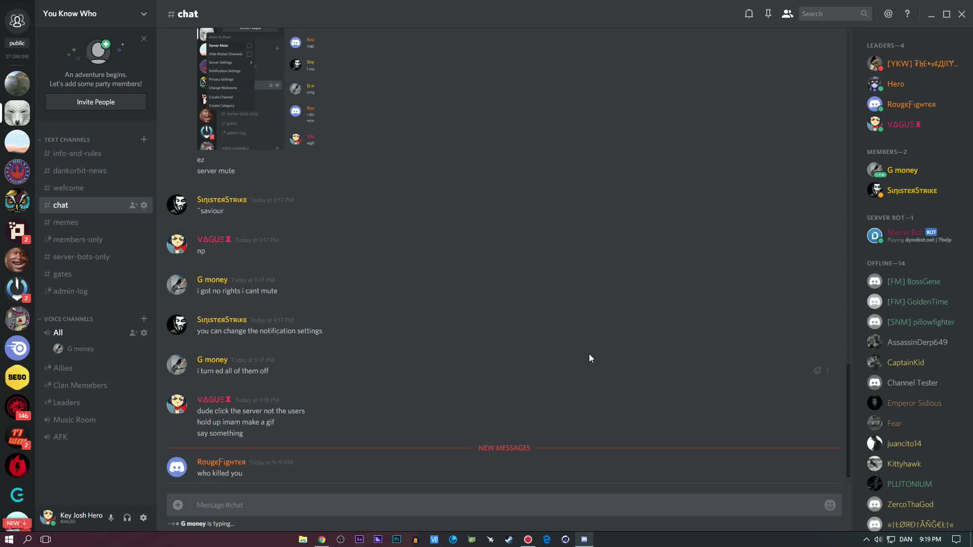 #discord, Disable Notifications on discord GIFs