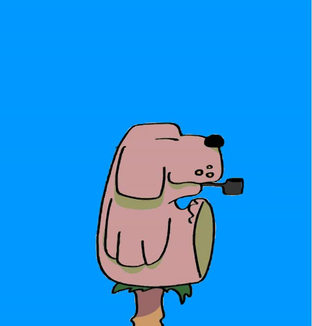 Watch Día 27… Oso o perro fumando pipa GIF on Gfycat. Discover more related GIFs on Gfycat