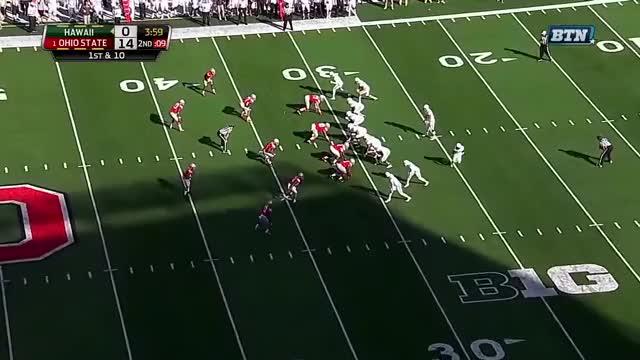 Watch Hawaii vs Ohio State 2015 GIF on Gfycat. Discover more college football, college football 2015, hawaii vs ohio state GIFs on Gfycat