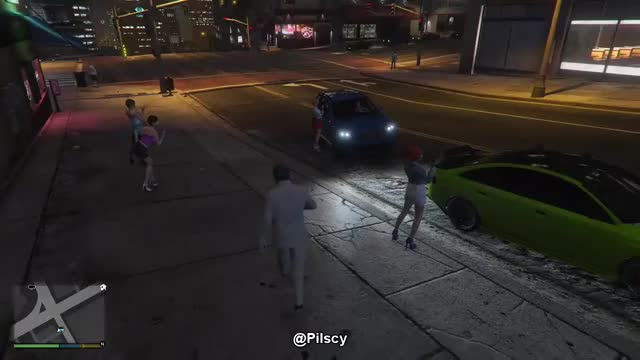 Watch and share Gameplay GIFs and Gta V GIFs by Carlito Pilscy Green on Gfycat