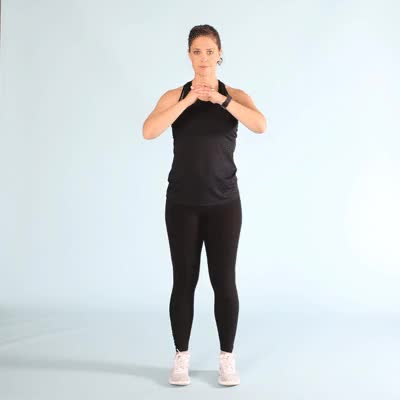 Watch and share 400x400-Curtsy Lunge GIFs by Healthline on Gfycat