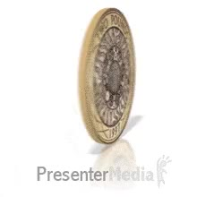 Watch and share ID# 18316 - Two Pound Coin Spinning - PowerPoint Animation GIFs on Gfycat