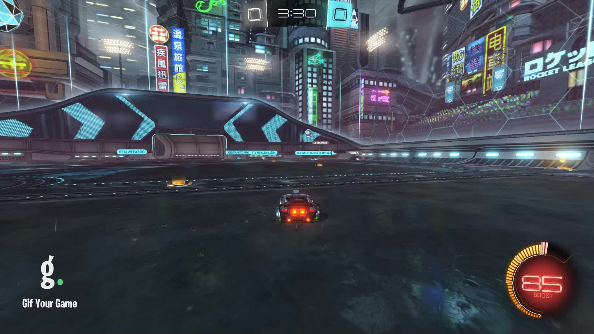 Assist, Duck Dodgers, Gif Your Game, GifYourGame, Rocket League, RocketLeague, Assist 1: Duck Dodgers GIFs