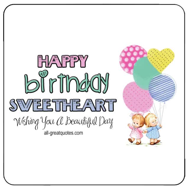 Watch and share Happy-Birthday-Sweetheart-Animated-Kids-Balloons-Card.gif GIFs on Gfycat