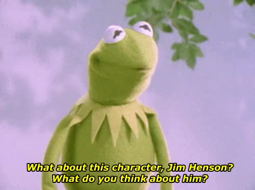 Watch and share Kermit The Frog GIFs on Gfycat