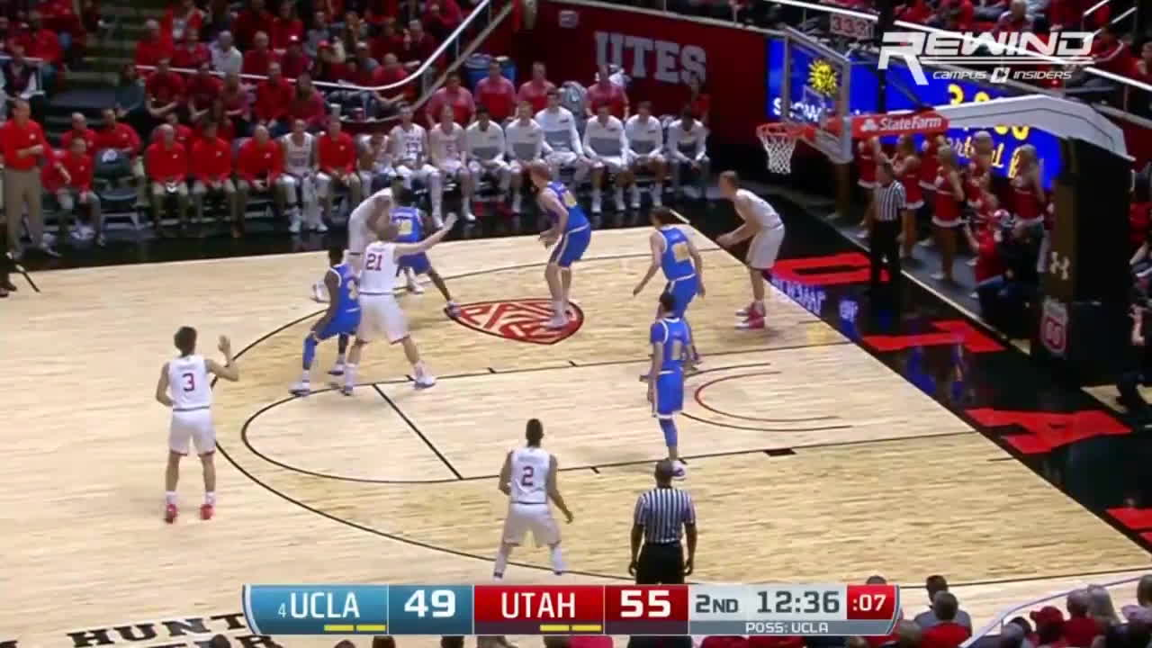 NYKnicks, basketball, college basketball, Lonzo Ball's Steals Lead To Dunks | CampusInsiders GIFs
