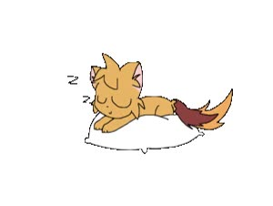 Watch and share Sleeping (GIF) By Blue-skiez animated stickers on Gfycat
