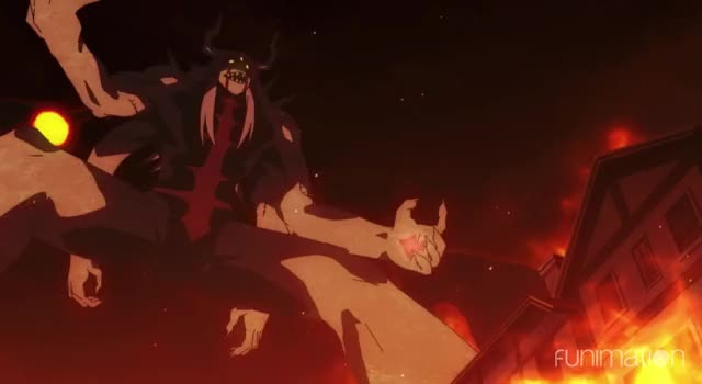 Watch The Beast Beam! GIF by Funimation (@funimation) on Gfycat. Discover more Black Clover, BlackClover, Episode 3, anime, ep3, funimation GIFs on Gfycat