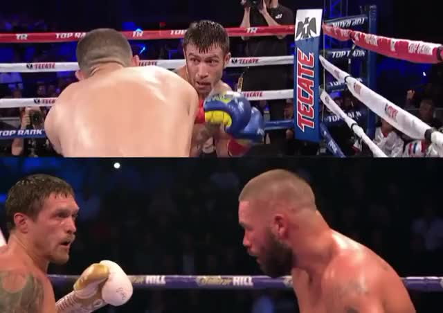 Watch Usyk & Lomachenko - 2 punch KO by LomUs! GIF on Gfycat. Discover more Lomachenko, Usyk, boxing, papachenko GIFs on Gfycat