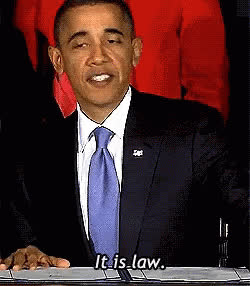 barack obama, obama it's the law GIFs