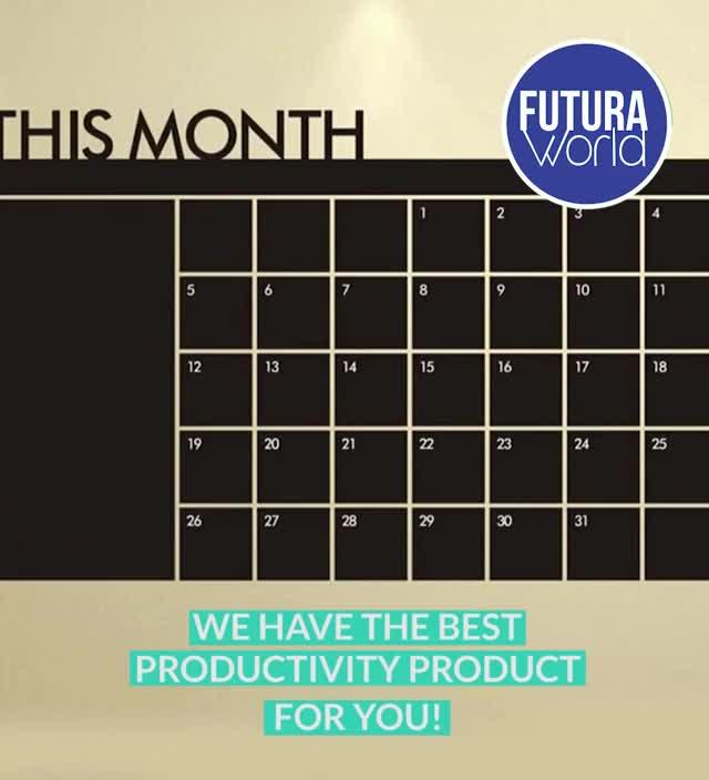 Watch and share Productivity Chalkboard Calendar (FUTURA) GIFs by Nikkie Cinco Munda on Gfycat