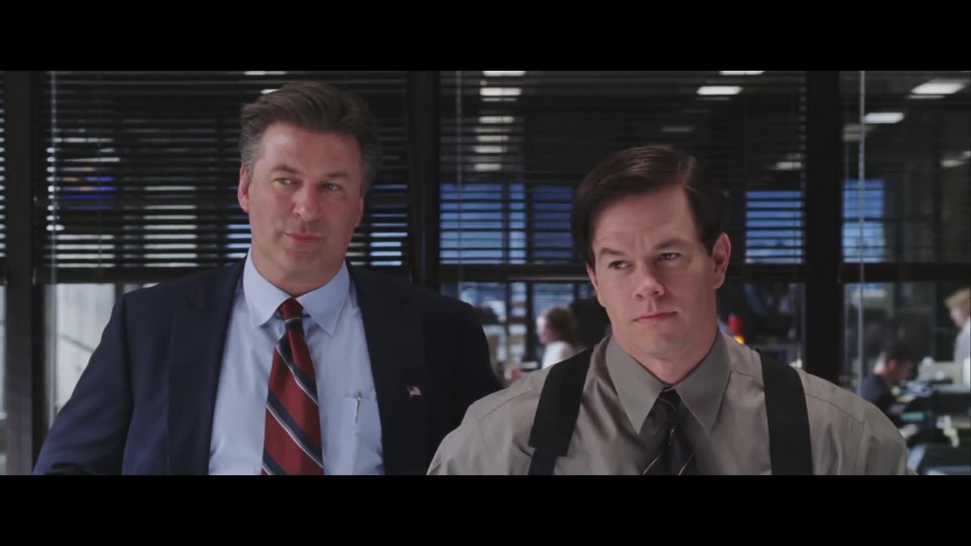 Alec Baldwin, Dignam, Leonardo DiCaprio, Mark Wahlberg, Martin Sheen, Matt Damon, The Departed, fuckyourself, maybemaybenot, The Departed - Maybe. Maybe not. Maybe fuck yourself. GIFs