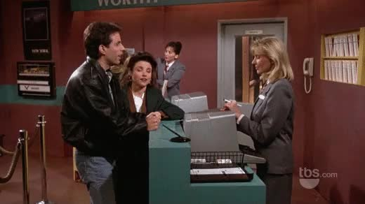 The car reservation : seinfeldgifs GIFs