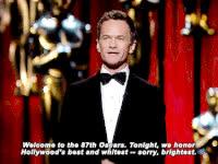 celebs, neil patrick harris, oscars, Oscars GIFs