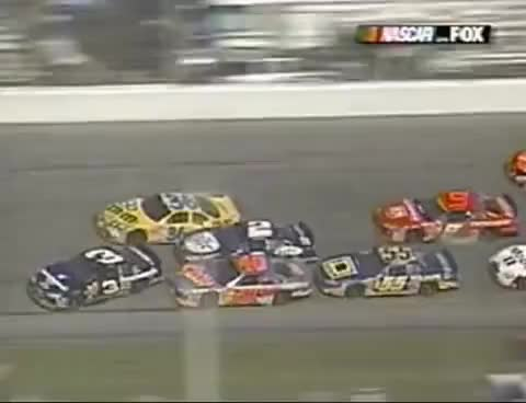 Watch and share Dale Earnhardt Sr. Fatal Crash *Live With Replays* GIFs on Gfycat
