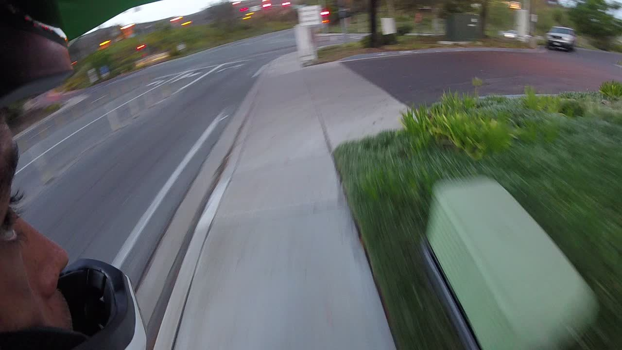 Roadcam, motogif, motorcycles, [USA] Motorcyclist rides in bike lane, trys to intimidate cyclist (x-post /r/bicycling) (reddit) GIFs