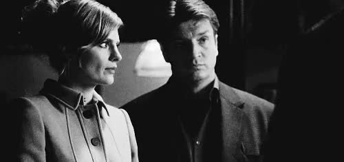 Watch and share Richard Castle GIFs and Kate Beckett GIFs on Gfycat