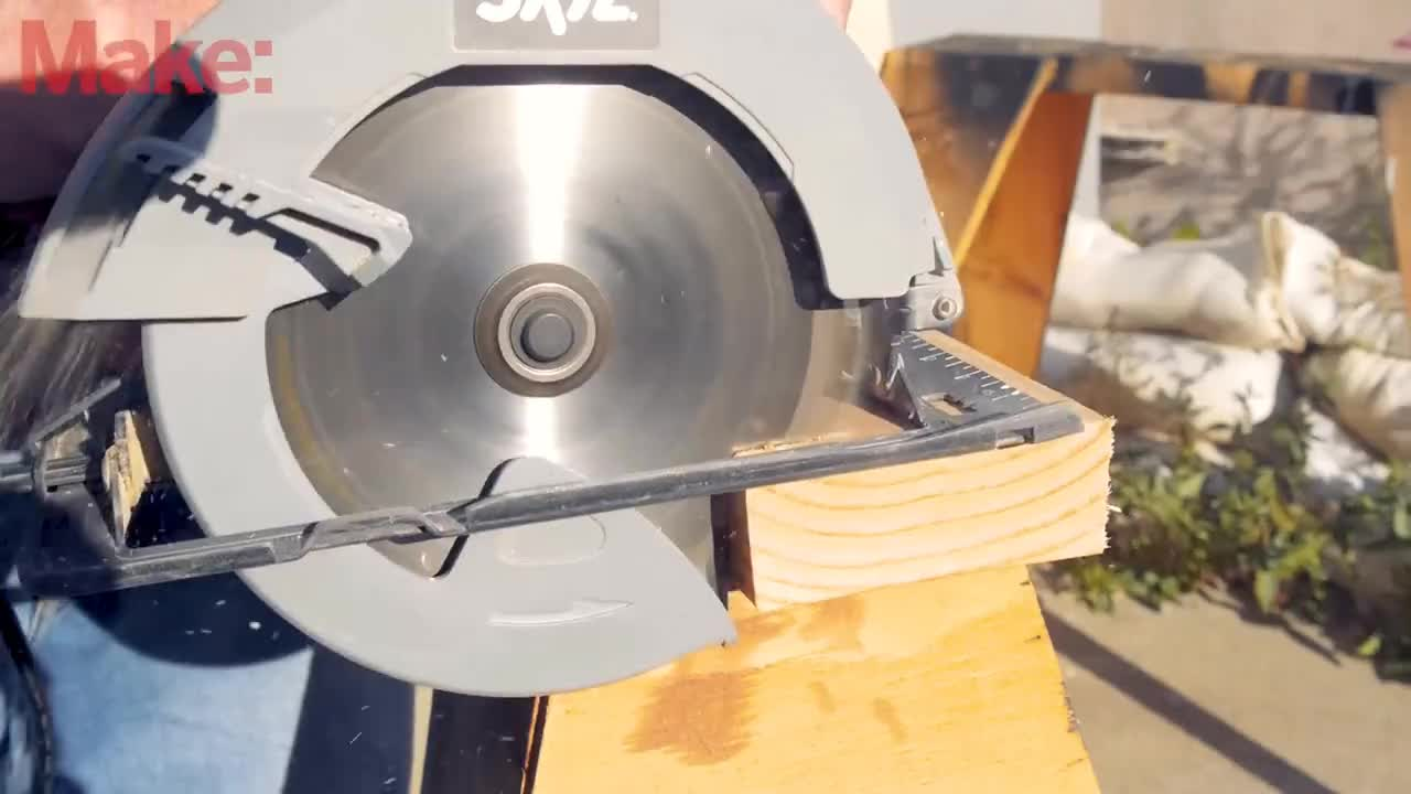 All Tags, Magazine, Saw, Tips, Wood, cutting, diy, make, maker, woodworking, How To Use a Circular Saw GIFs