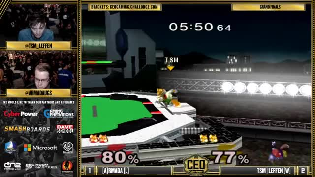 Watch CEO 2015 - TSM | Leffen (Fox) Vs. [A] Armada (Fox) SSBM Grand Finals - Smash Melee GIF on Gfycat. Discover more ssbm, video game, videogamebootcamp GIFs on Gfycat