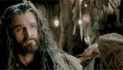 Watch thorin + smiling requested by burglarboggins GIF on Gfycat. Discover more 5k, an unexpected journey, auj, burglarboggins, desolation of smaug, dos, mine, plus, richard armitage, the hobbit, the hobbit: an unexpected journey, the hobbit: desolation of smaug, this killed me, thorin oakenshield, tolkien edit GIFs on Gfycat