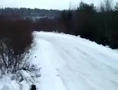 transportation, truck, trucks, Truck DRIFT on SNOW GIFs