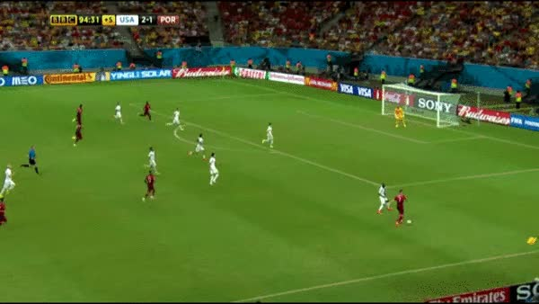 Watch and share USA Portugal World Cup 2014 Final Goal Gif / Gfycat GIFs on Gfycat