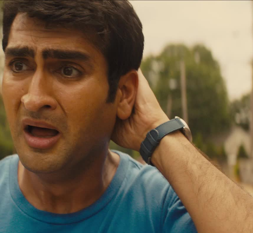 horrified, kumail nanjiani, oh no, scared, scream, screaming, stuber, stuber movie, worried, Kumail Nanjiani Freaking Out GIFs