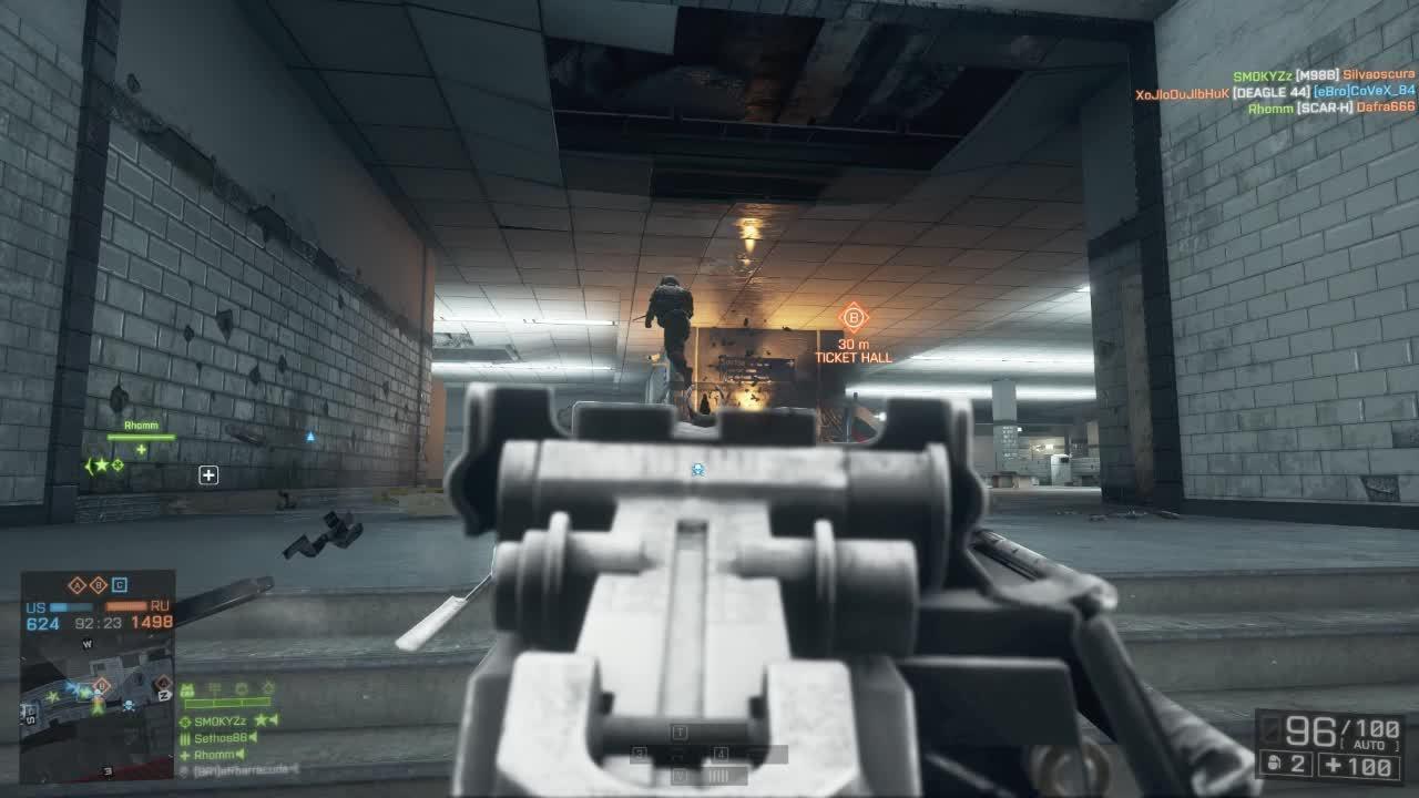 60fpsgaminggifs, Battlefield 4 - Few PKP kills (reddit) GIFs