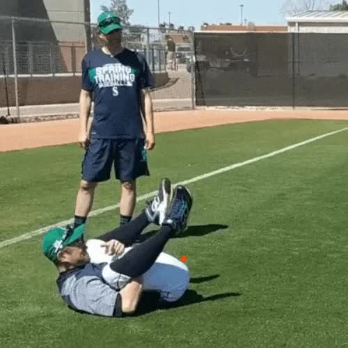 Watch and share Domingo Ayala Workout With The Seattle Mariners Spring Training 2018 GIFs on Gfycat