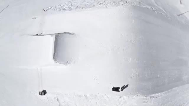 Watch and share Aerial Backside 360 - Meribel, France GIFs on Gfycat