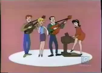 Watch Archies GIF on Gfycat. Discover more 1960's, Cartoon, bubblegum, music GIFs on Gfycat