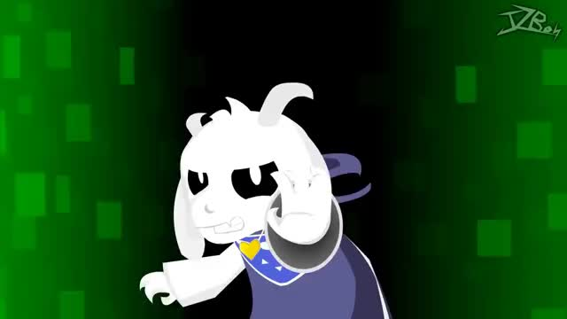 Watch and share Asriel Dreemurr Vs Marisa Kirisame - (Undertale Vs Touhou) Animation GIFs on Gfycat