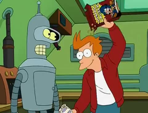 Watch and share Futurama GIFs and Cereal GIFs on Gfycat