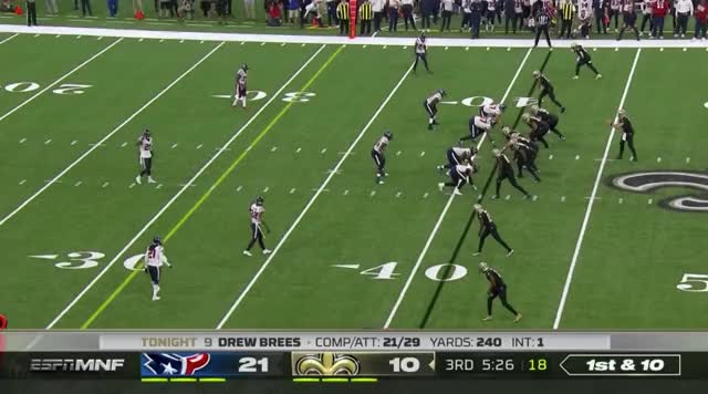 Watch and share 3Q Ginn 11 Yards GIFs by nolaplayer93 on Gfycat