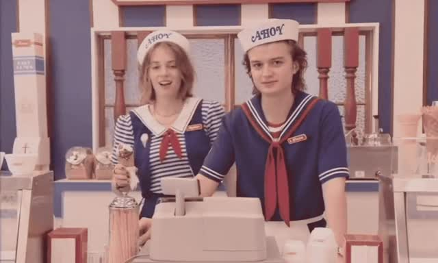 Watch and share Stranger Things GIFs and Maya Thurman GIFs by Reactions on Gfycat