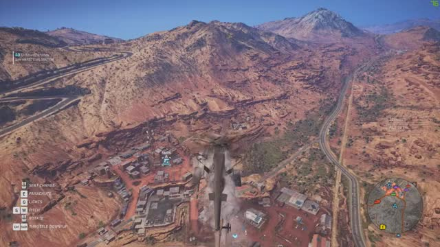 Watch and share Wildlands - That's A Close Landing GIFs on Gfycat