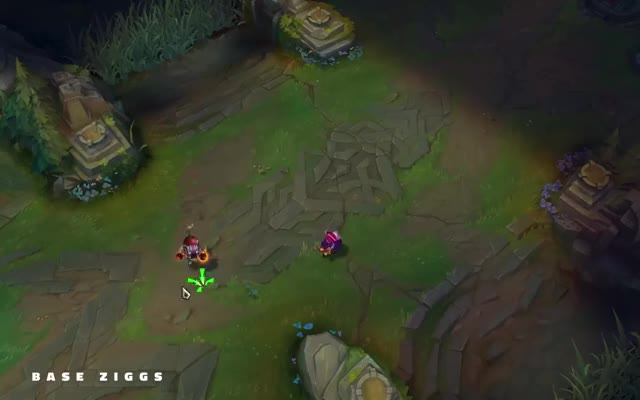 Watch and share Ziggs VFX Update GIFs by deadlinenezz on Gfycat