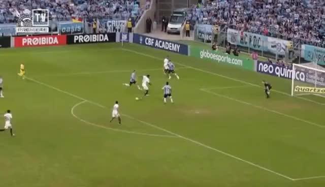 Watch and share Melhores Momentos - Grêmio 0x1 Corinthians - Brasileirão 2017 GIFs on Gfycat